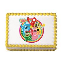 Yo Gabba Gabba Edible Cake Topper - $8.03