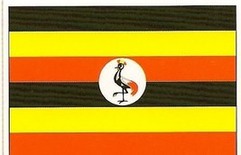 Uganda ~ Country Flag ~ Cake / Cupcake Edible Image - €6,50 EUR