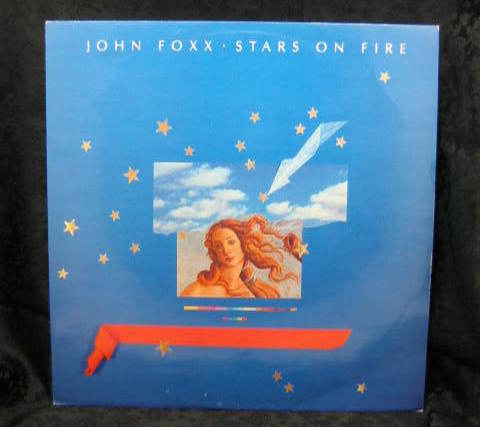 John Foxx Stars on Fire 1985 Virgin Records VS 771