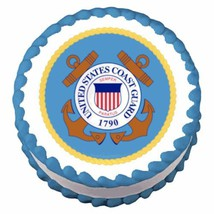Coast Guard Emblem ~ Edible Image Cake / Cupcake Topper - €6,50 EUR