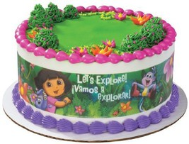 Dora the Explorer Edible Cake Border Decoration - $7.60