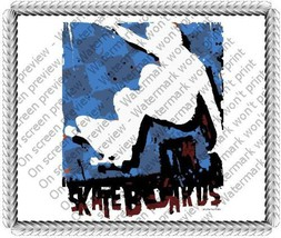 1/4 Sheet ~ Skateboarding Skateboarder Background Birthday ~ Edible Imag... - €7,44 EUR