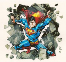 "8"" Round ~ Superman Bustin Through Birthday ~ Edible Image Cake/Cupcake ... - €8,27 EUR"