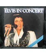 Elvis Presley Elvis in Concert 1977 RCA Records - $4.99