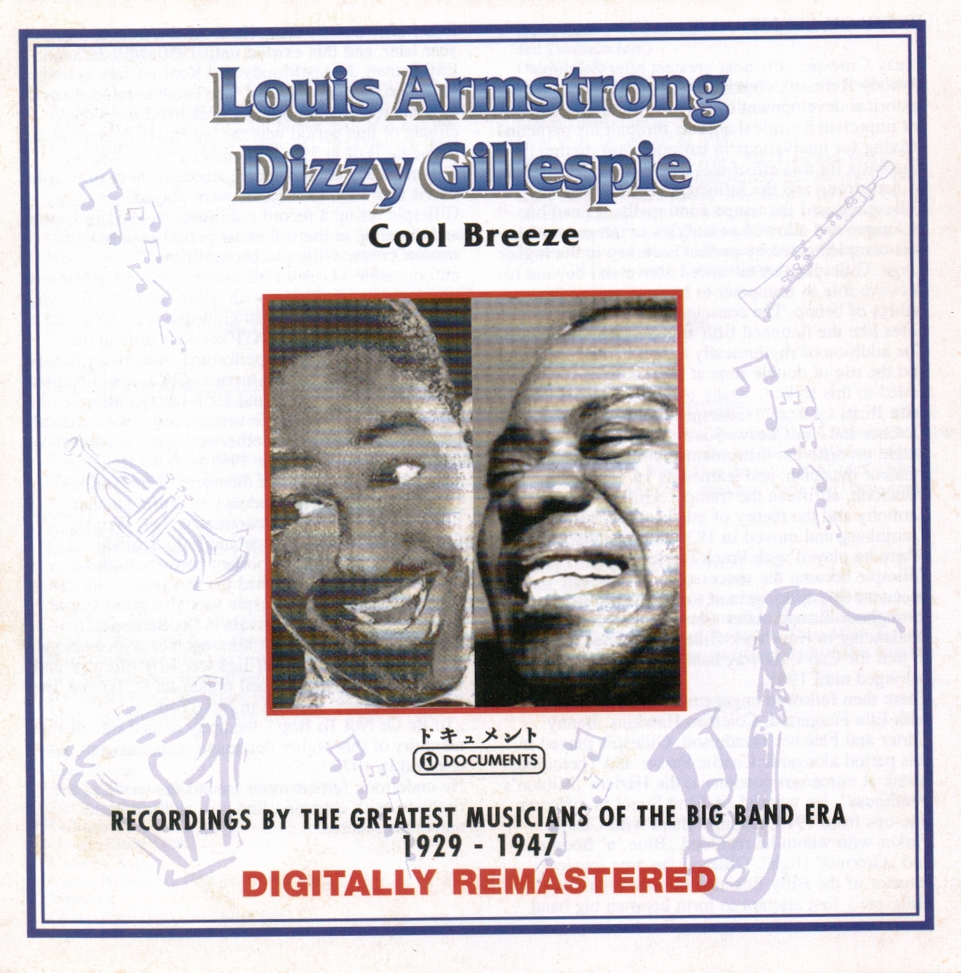 Louis Armstrong , Dizzy Gillespie (Swing) 2 CD