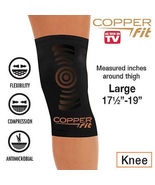 Copper Fit Copper Infused Knee Compression Sleeve As Seen on TV Brace Jo... - $23.99