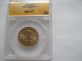 2000 P , Sacagawea / Native American  Dollar , MS 67 , ANACS Certified - $30.00