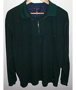 Mens Port Authority Forrest Green Long Sleeve Shirt Size L - $7.00
