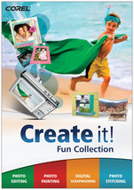 Corel Create it ! Fun Collection Photo Editing Scrapbooking NEW - $18.55