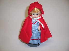 """Madame Alexander 8"""" Red Riding Hood with Flower Basket and Metal Stand - $27.65"""