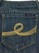 Seven7 Boot Cut Dark Wash Denim Blue Jeans Women's  Size 28 Actual: 29x32 - $16.50