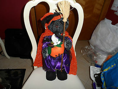 "Primary image for Adorable 19"" stand alone bear dressed for Halloween"