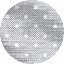 GREY WITH WHITE POINTS  32 Count by Wichelt  18 x 27 + FREE Tapestry Nee... - $19.79
