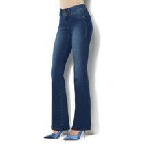 IMAN Luxury Denim Perfect Fit Jean Boot-Cut CLASSIC DENIM 14 Short NEW 5... - $31.65