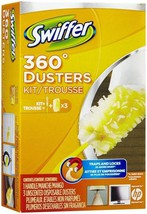Swiffer 360° Starter Kit - 1 Handle and 3 Disposable Duster Box - $9.89