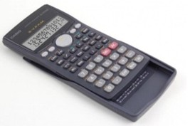 New CASIO Scientific Calculator  FX-570MS FX570MS with Slide-on Hard Cas... - $30.69