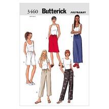 Butterick Patterns B3460 Misses'/ Misses' Petite Skirt, Shorts & Pants, Size 20- - $14.70