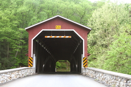 Colemanville Covered Bridge 13 x 19 Unmatted Photograph - $35.00