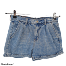 American Eagle Mom Short Blue Denim Jean Shorts Womens Size 2 - $29.69
