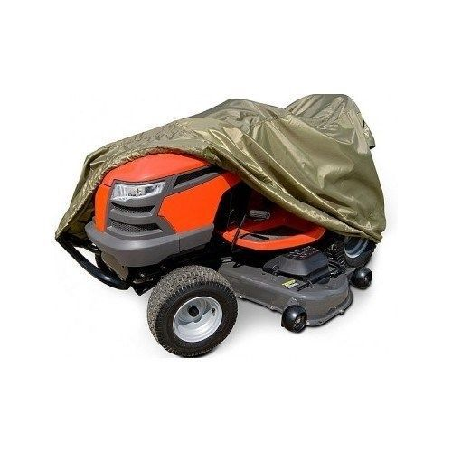 Lawn Tractor Cover Riding Mower Water Resistant Secure Storage Bag Accessories