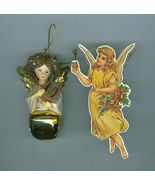 Two Christmas Tree Angel Ornaments - $5.99