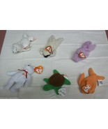 Ty Teenie Beanie Babies Lot of 6 Happy Seamore ... - $14.19