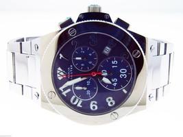 Men's Swiss Made Aqua Master blue Face watch - $346.49