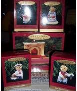 Hallmark Bearingers Keepsake Ornaments Set of 5 Mama Papa Two Children NEW - $20.00