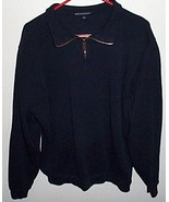 Mens Port Authority Navy Blue Long Sleeve Shirt Size L - $7.00