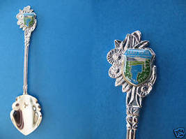 Hari Hari Lake Ianthe South Island New Zealand Souvenir Collector Spoon Nz. - $6.95