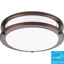 Progress Lighting p7249-174EBWB Energy Star 1-Light Urban Bronze Flushmo... - $2.222,91 MXN
