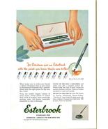 1951 Esterbrook Fountain Pen Christmas Gift print ad - $10.00