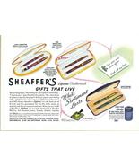 1941 Sheaffer's Pen Pencil Gifts Set pen boxes print ad - $10.00