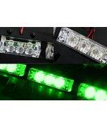 54 Bright Green LED Emergency Flash Strobe Lights Bar for Windshield / D... - $46.80