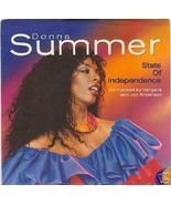 "Donna Summer 45 rpm with picture sleeve ""State of Independence"" - $1.98"