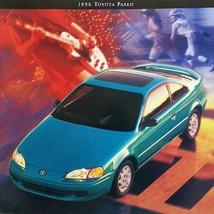 1996 Toyota PASEO sales brochure catalog US 96 - $8.00