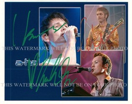 An item in the Entertainment Memorabilia category: AHA GROUP BAND AUTOGRAPHED 8x10 RP PROMO PHOTO TAKE ME ON