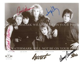 HEART GROUP BAND AUTOGRAPHED 8x10 RP PROMO PHOTO ANN NANCY WILSON - $14.99