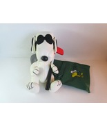 Vintage Peanuts Snoopy Joe Cool the Golfer TV Remote Control Holder Orga... - $9.99