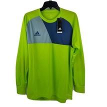 Adidas Men Assita 17 Goalkeeper Lime Green Blue Gray Jersey CV7750 Size ... - $29.95