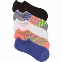 No Boundaries No Show Socks 5 Pair Women's Shoe Size 4-10 Stripes  #21 - $9.89