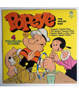 Popeye The Sailor Man - 4 Fun Filled Stories LP Vinyl Record Album, Pete... - $16.95