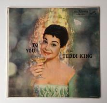 Teddi King - To You From Teddi King LP Vinyl Record Album, RCA Victor, l... - $17.95