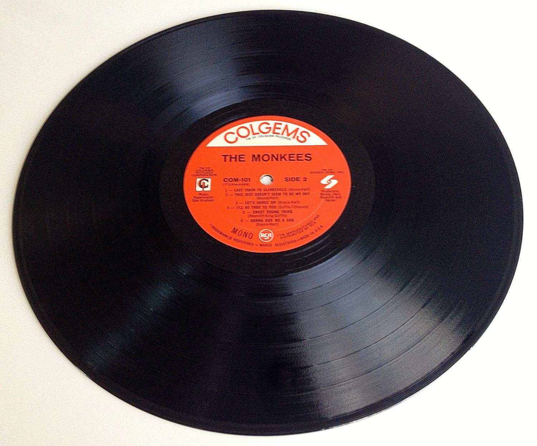 The Monkees - Self Titled LP Vinyl Record Album, Colgems - COM-101, Rock, Pop Ro
