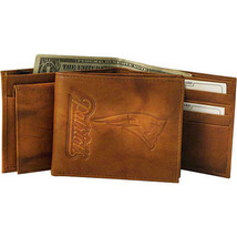 NEW ENGLAND PATRIOTS NFL FOOTBALL SPORTS EMBOSSE LOGO BILLFOLD OR TRIFOL... - €22,45 EUR