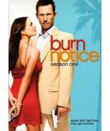Burn Notice - Season 1 (DVD, 2009, 4-Disc Set) - $17.77