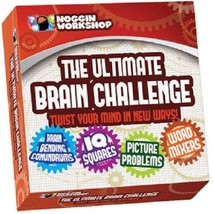 The Ultimate Brain Challenge GAME #16000, Ages 12+