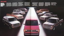 1985 Chevrolet Chevy Truck Brochure, El Camino Blazer - $6.83