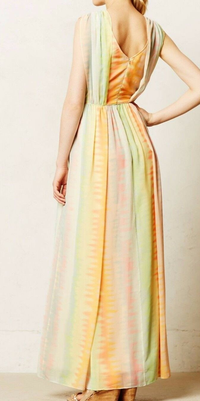 Anthropologie Solen Maxi Dress by Fleur Wood $198 Sz 4 - NWT