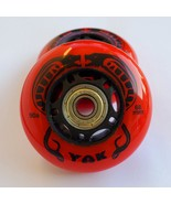 2x 68mm RipStik Ripster Wheels with Bearings / Best Outdoor Mini Razor W... - $24.99